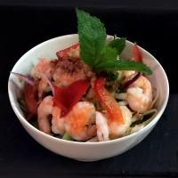 Salade asiatique Crevette