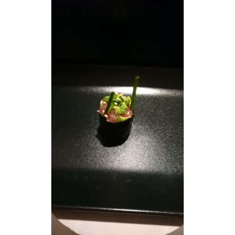 sushi tartare thon