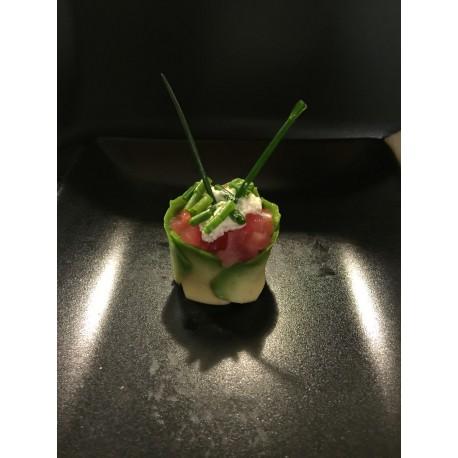 Tulipe thon fromage ciboulette
