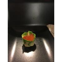 Tulipe œuf de saumon