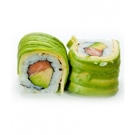 California Rolls dragon saumon